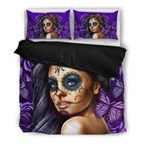 Calavera-Girl Duvet Set