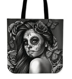 Calavera-Girl Tote Bag