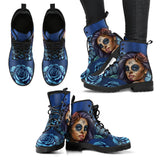 Calavera Girl Eco-Leather Boots