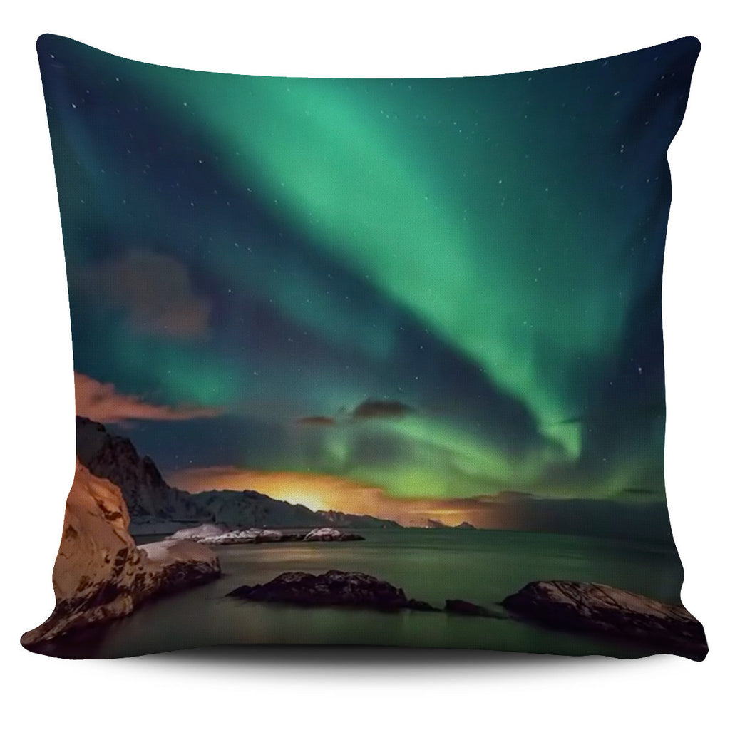 The Northern Lights Cushion Covers