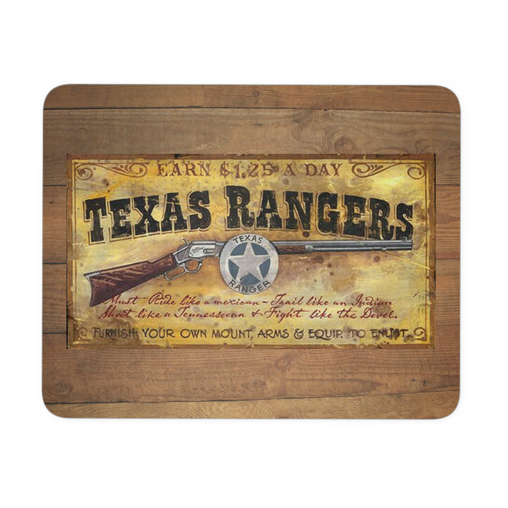 Texas Rangers Mousepad