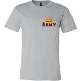 Army Tshirt - 'Canvas & District' Style