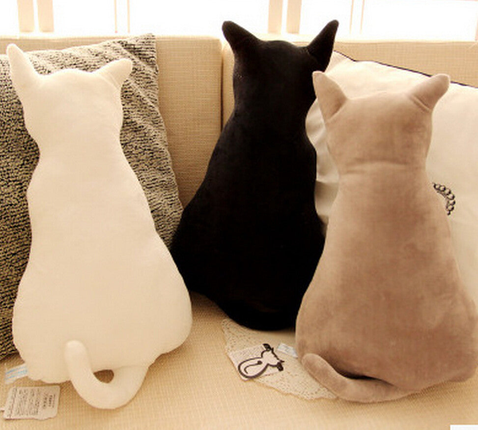 Cute Cat Shaped Pillow - Forever Purrfect