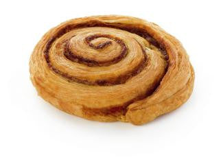 Danish Pastry, Big Cinnamon Swirl (Stor Kanelsnegl) 12 pcs Frozen Bake Off