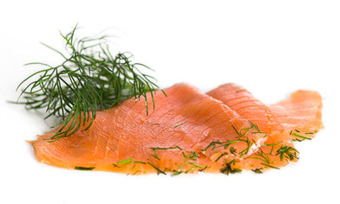 Salmon, Gravlax - Nordic Curred (Gravad Laks) 500 gr pre sliced