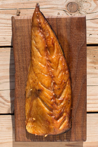 Smoked Mackerel Filet (Røget makrel filet) about 2x180gr