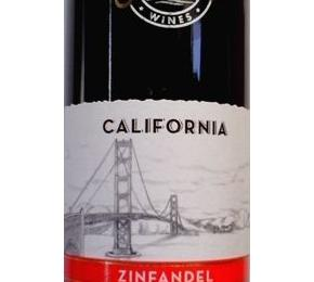 Wine, OverSeas Zinfandel special red wine, California (Rødvin)