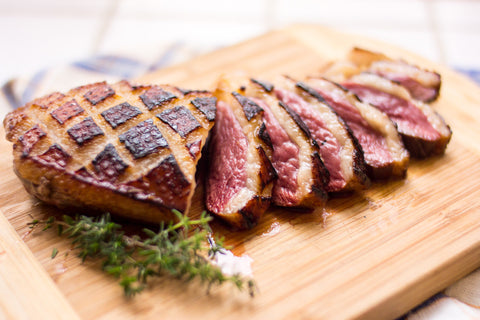 Duck, French Duck Breast Pre-cooked (Fransk Andebryst) 400+gr