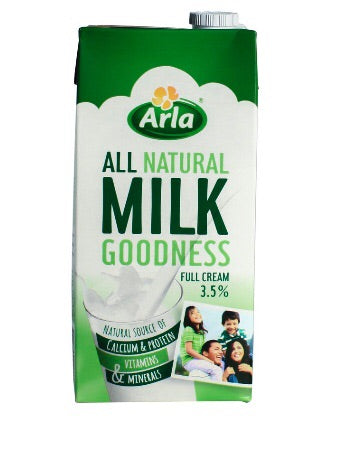 Arla Full Cream Milk 1liter (12pcs)