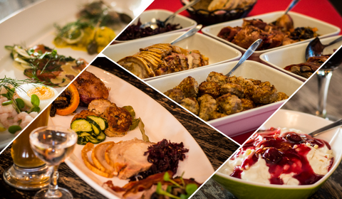 Christmas Lunch De Luxe Menu (Luxus Julemenu) Order min 6 pax