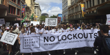 Sydney's Lockout Laws Relaxed