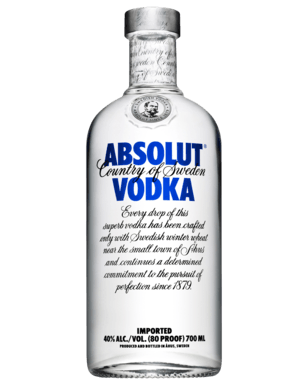 Absolut Vodka 700ml Award Winner Swiftdrinks Alcohol Delivery