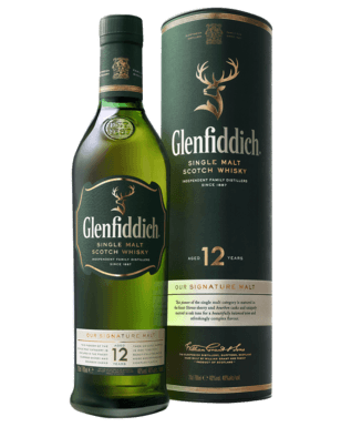 Glenfiddich 12 Year Old Scotch Whisky 700mL Swiftdrinks Alcohol Delivery Sydney