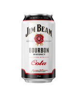 Jim Beam Bourbon and Cola Can Swiftdrinks Alcohol Delivery