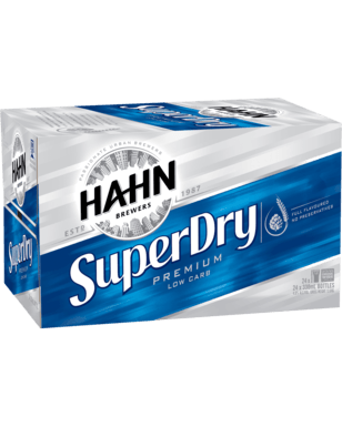 Hahn Super Dry Corporate Drinks Delivery