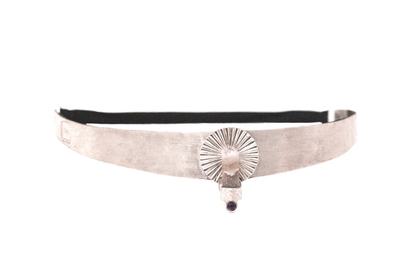 THIRD EYE MEDITATION CROWN silver