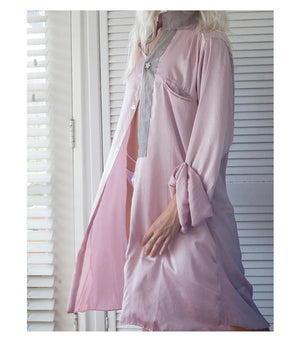 432hz emf shielding cape | pink