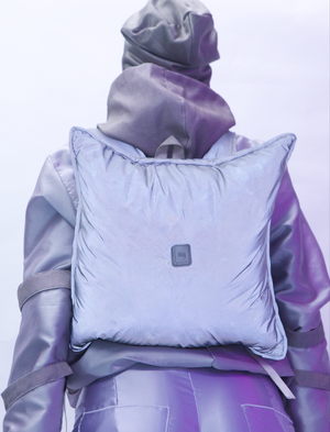Dreamer💤 | pillow backpack | reflective