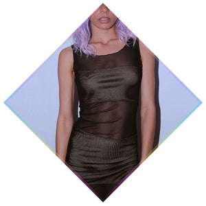 EMF SHIELD UNTOUCHABLE DRESS - black