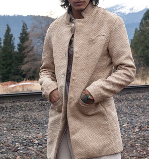 B'LASER Hemp Cord Jackete ~ natural