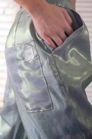 FL0 ~ iridescent (adjustable slacks)