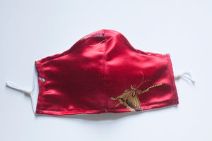MASQ | BUTTERFLY BROCADE RED