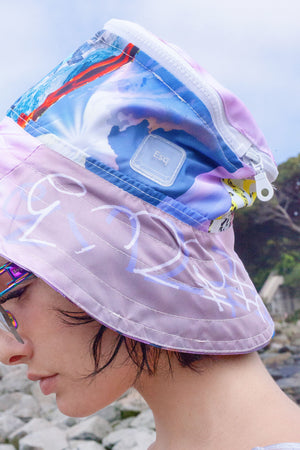 ♻ TRΞQ HAT | made from recycled plastic bottles