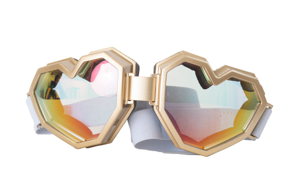 ESQAPE GOGGLES - GOLD [eye/vision protection]