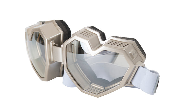 ESQAPE GOGGLES - SILVER [eye/vision protection]