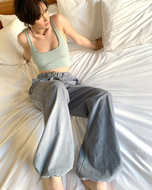FL0 ~ blue (adjustable trousers)
