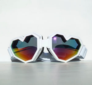 ESQAPE GOGGLES - WHiTE [eye/vision protection]