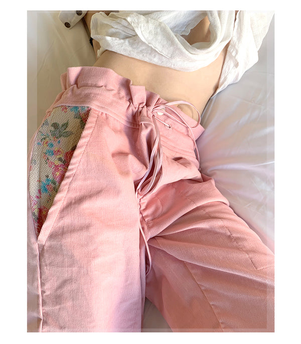 FL0 ~ pink (adjustable trousers)
