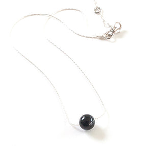 Raw Shungite + Necklace