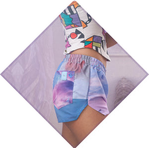 ♻ TRΞQ SHORTS | made from recycled plastic bottles