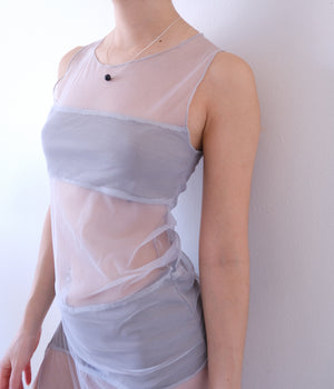 EMF Shield UNTOUCHABLE DRESS - silver