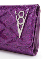 The V-8 Hot Rod Wallet - ELECTRIC PURPLE SPARKLE
