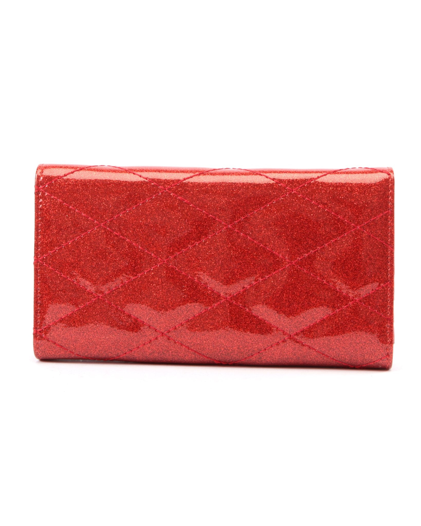 The V-8 Hot Rod Wallet - VENOM RED SPARKLE