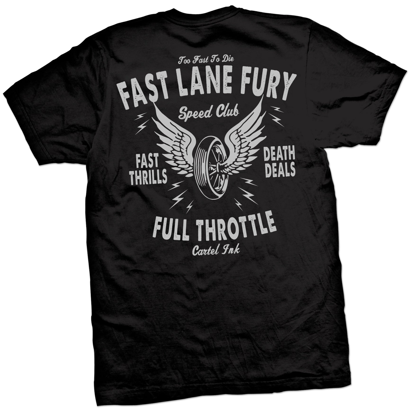 The FAST LANE FURY Tee