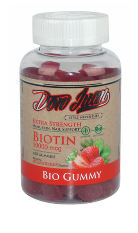 Don Juan - BIO GUMMY Hair, Skin & Nail Supplement
