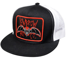 The BAT Two-Tone Trucker Cap - BLACK/WHITE