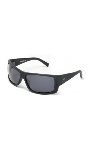 The BRONSON Sunglasses - Matte Black Frames w/ Smoked CR-39 Lenses