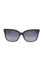 The CLEO Sunglasses - Black and White Horn Frames w/ Smoke Gradient CR-39 Lenses