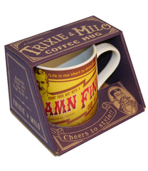 The BOSS LADY 12oz Vintage-Style Diner Mug