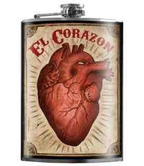 EL CORAZON Stainless Steel Flask