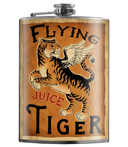 The FLYING TIGER Stainless Steel Flask