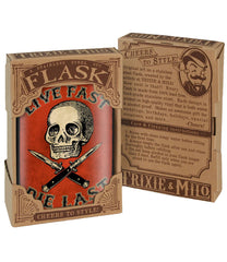 The LIVE FAST DIE LAST Stainless Steel Flask