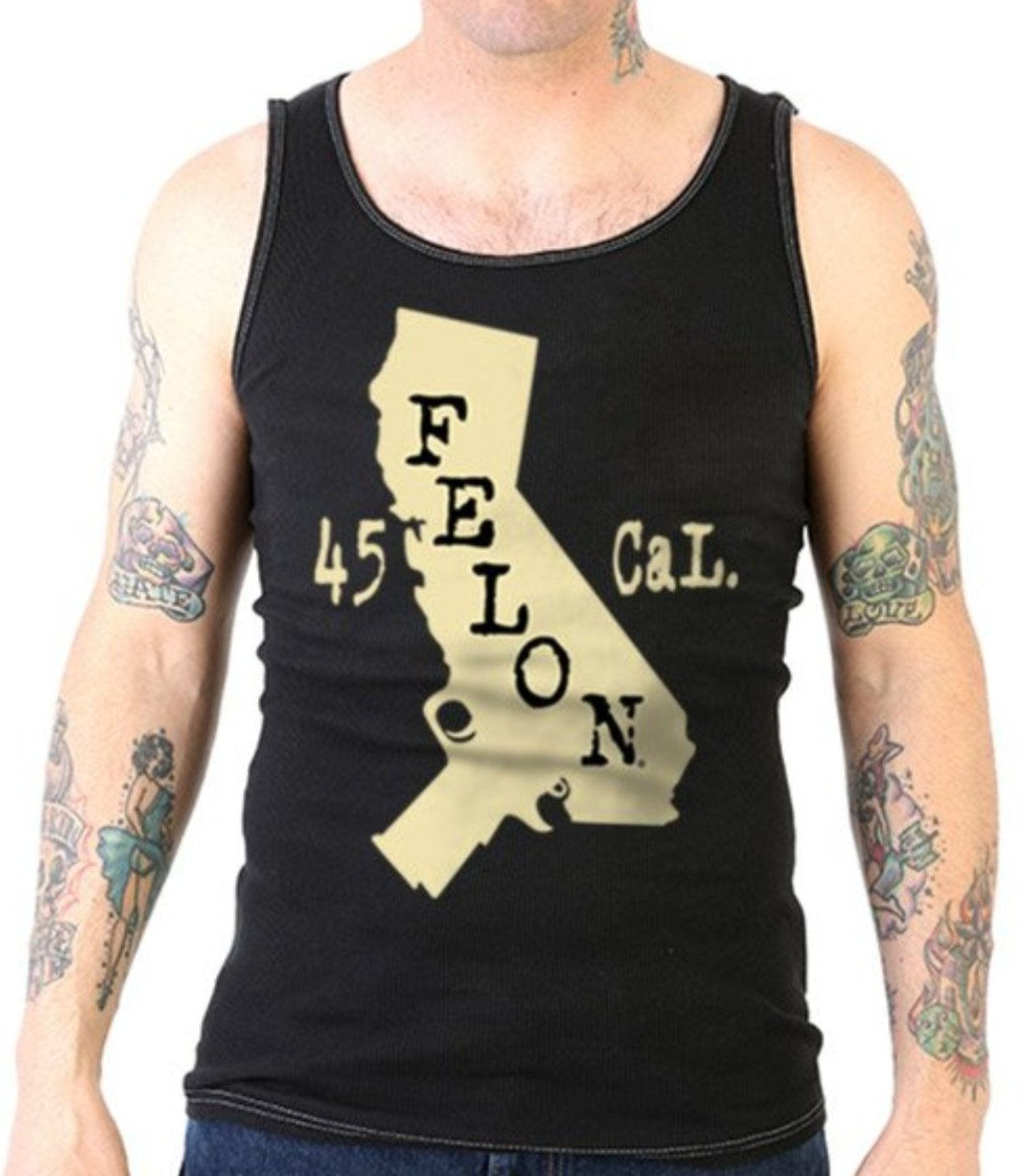 The CALI Rib Tank Top