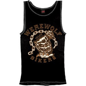 The WEREWOLF BIKERS Rib Tank Top