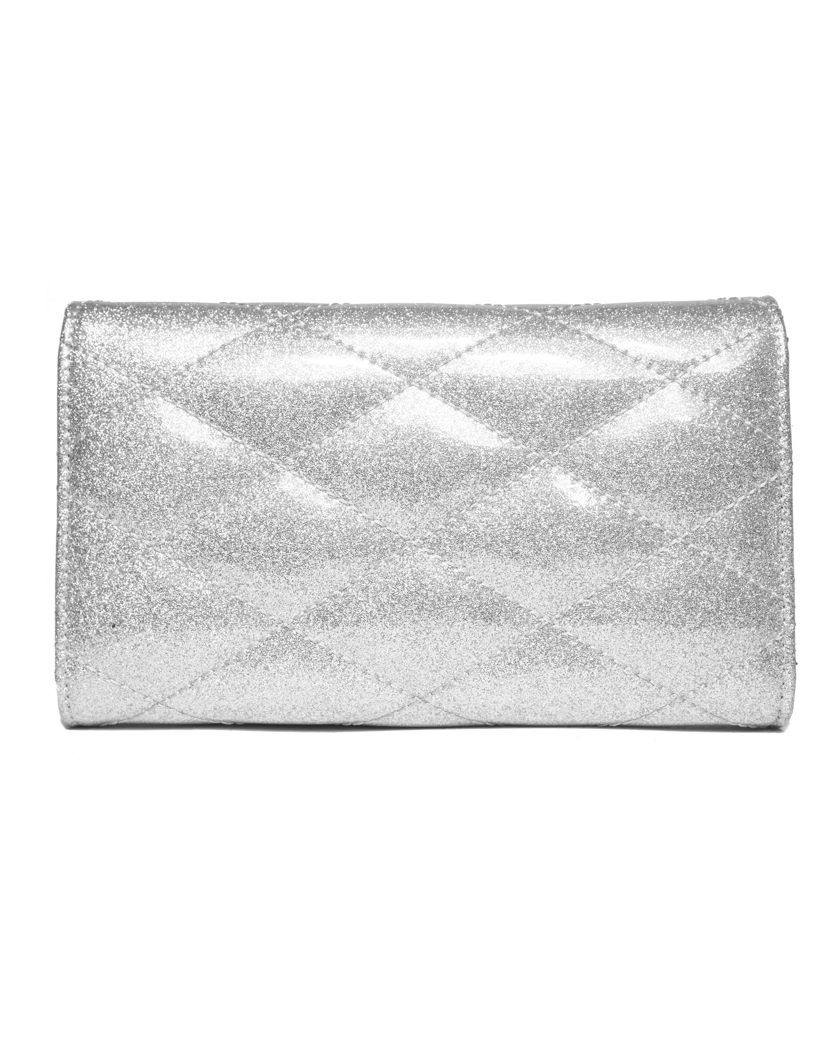 The V-8 Hot Rod Wallet - SILVER THUNDER SPARKLE
