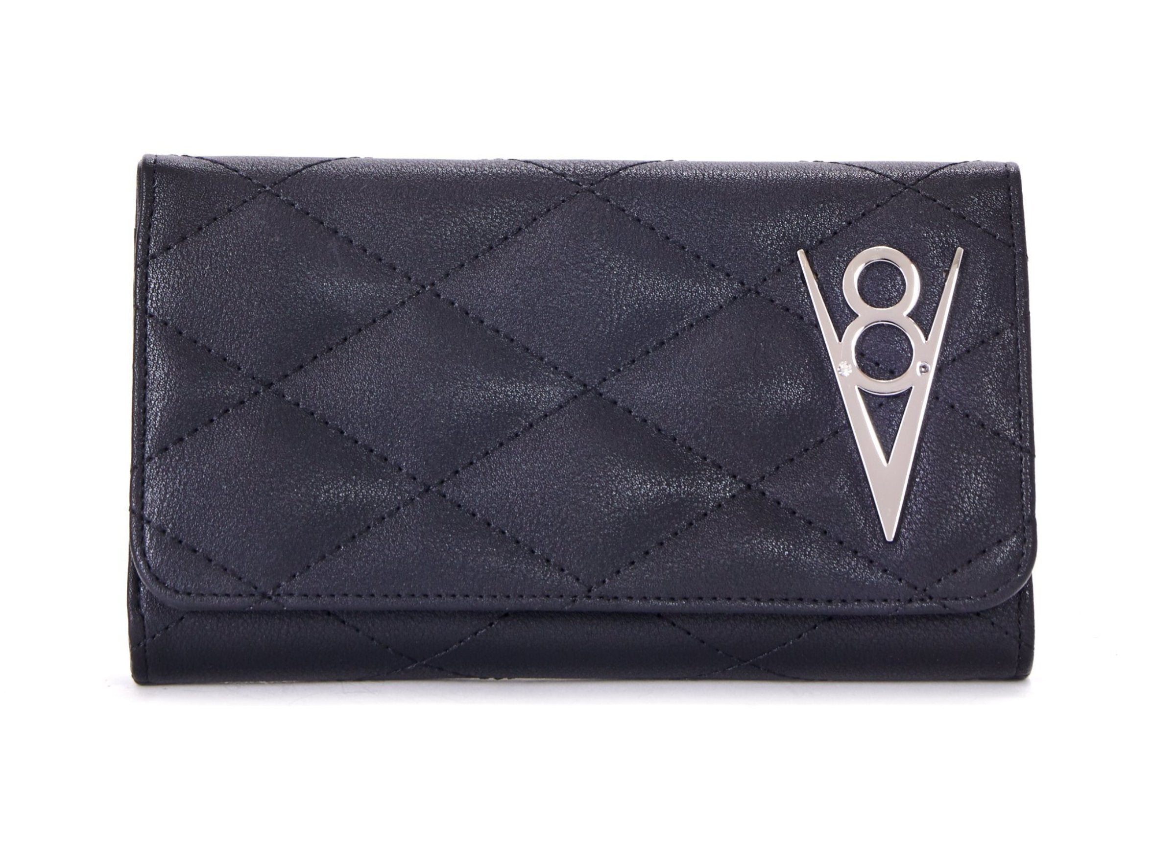 The V-8 HOT ROD Wallet - MATTE BLACK